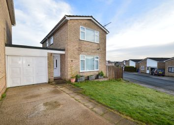 Thumbnail 3 bed detached house for sale in Didsbury Close, Ipswich