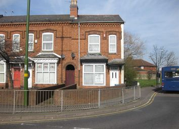 Thumbnail 3 bedroom end terrace house for sale in Coventry Road, Small Heath, Birmingham