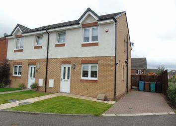 Thumbnail 3 bed semi-detached house for sale in Kelburn Grove, Cairnhilll, Airdrie, North Lanarkshire