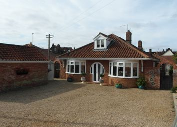 Thumbnail 4 bed bungalow for sale in Back Lane, Wymondham
