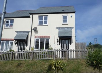 Thumbnail 3 bed end terrace house to rent in Gwithian Road, St Austell, Cornwall