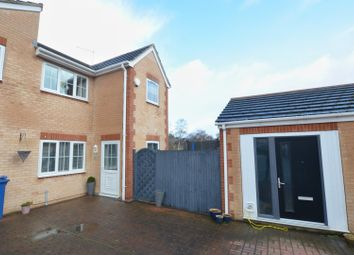 3 bed town house for sale in Carrwood Close, Worsbrough, Barnsley S70