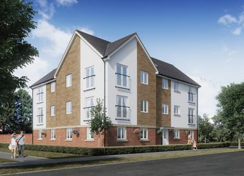 "Thumbnail 1 bedroom flat for sale in ""The Badbury"" at Wilbury Close, Coate, Swindon"