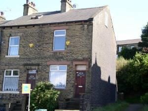 Thumbnail 3 bed end terrace house to rent in Great Horton Road, Bradford