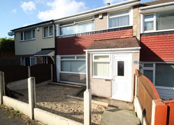 Thumbnail 3 bed terraced house to rent in Woolsington Close, Nottingham