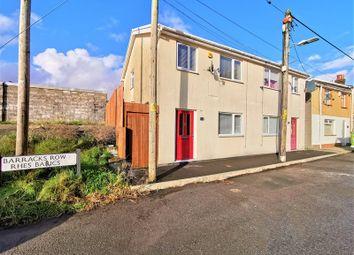 Thumbnail 3 bed semi-detached house for sale in Barracks Row, Dowlais, Merthyr Tydfil