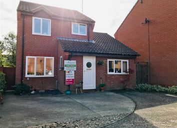 Thumbnail 4 bed detached house for sale in Webbs Close, North Walsham