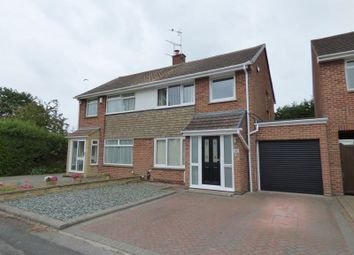 Thumbnail 3 bedroom semi-detached house for sale in Cheraton Close, Swindon