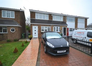Thumbnail 2 bed end terrace house for sale in St. Johns Road, Chadwell St. Mary, Grays