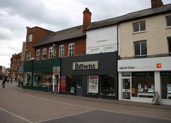 Thumbnail Retail premises to let in 1-2 Swan Street, Loughborough, Leicestershire