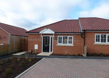 Thumbnail 1 bedroom semi-detached bungalow for sale in Teulon Close, Hopton, Great Yarmouth