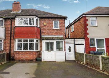 Thumbnail 3 bed semi-detached house for sale in Allerton Road, Yardley, Birmingham