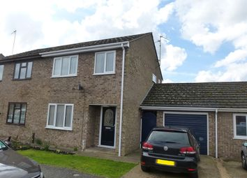 Thumbnail 3 bed semi-detached house for sale in Angoods Lane, Chatteris