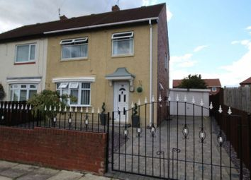 Thumbnail 3 bed semi-detached house for sale in Brixham Crescent, Jarrow