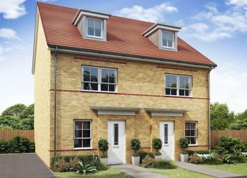 "Thumbnail 4 bedroom semi-detached house for sale in ""Kingsville"" at Mount Street, Barrowby Road, Grantham"