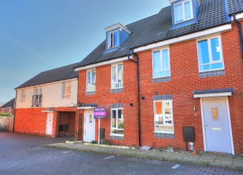 Thumbnail 3 bedroom town house for sale in Heron Road, Costessey, Norwich
