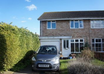 Thumbnail 3 bed semi-detached house for sale in Little Spinney, Cranfield, Bedford
