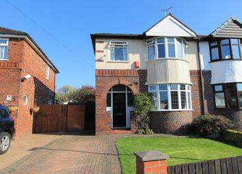 Thumbnail 3 bed semi-detached house for sale in Clyde Grove, Crewe