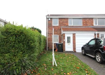 Thumbnail 3 bed semi-detached house to rent in Velville Court, Newcastle Upon Tyne