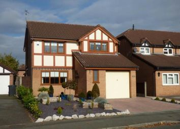 Thumbnail 4 bed detached house for sale in Norbreck Close, Great Sankey, Warrington, Cheshire