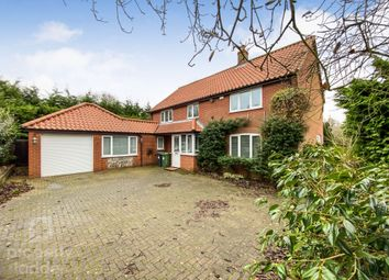 Thumbnail 4 bed detached house for sale in The Street, Catfield, Great Yarmouth