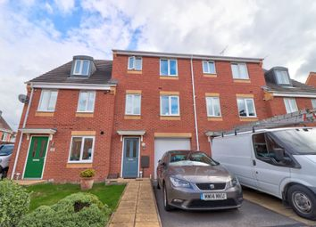 Thumbnail 4 bed terraced house for sale in Balata Way, Stretton, Burton-On-Trent