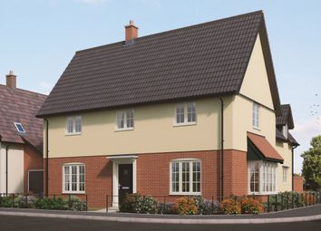 Thumbnail 4 bed detached house for sale in Middy Close, Mendlesham