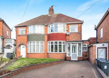 Thumbnail 3 bed semi-detached house to rent in The Rise, Great Barr, Birmingham