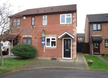 Thumbnail 2 bed semi-detached house for sale in Birkdale Avenue, Branston, Burton-On-Trent, Staffordshire