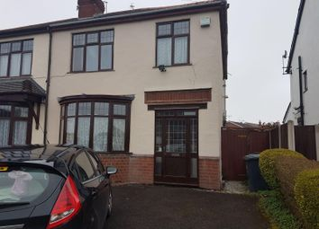 Thumbnail 3 bed semi-detached house to rent in Station Road, Wombourne, Wolverhampton