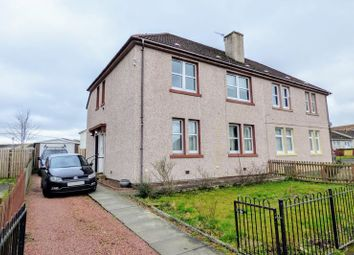 Thumbnail 1 bed flat for sale in Whitehill Crescent, Carluke
