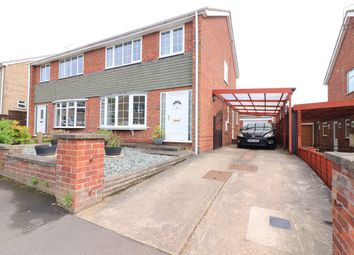 Thumbnail 3 bedroom semi-detached house for sale in Mendip Road, Scunthorpe