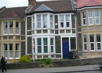Thumbnail 4 bed terraced house to rent in Wellington Hill, Horfield, Bristol