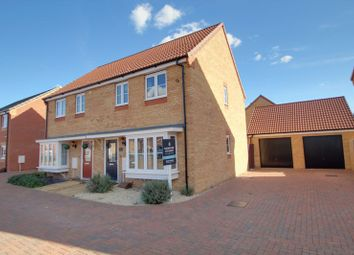 Thumbnail 3 bed semi-detached house for sale in Thorney Road, Eye, Peterborough