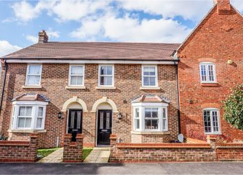 Thumbnail 3 bed terraced house for sale in Oliver Close, Kemspton