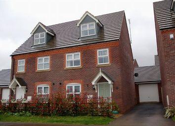 Thumbnail 3 bed semi-detached house for sale in Sandy Hill Lane, Moulton, Northampton