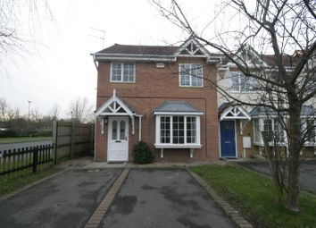 Thumbnail 3 bed end terrace house to rent in Cranhill Close, Littleover, Derby