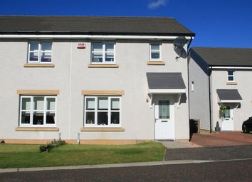 Thumbnail 3 bed semi-detached house for sale in Bisset Place, Bathgate