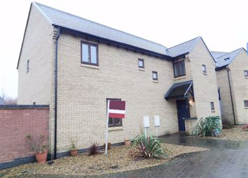 Thumbnail 4 bedroom detached house to rent in Cadeby Court, Broughton, Milton Keynes