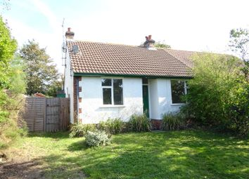 Thumbnail 3 bed semi-detached bungalow for sale in Elm Road, Rushmere St. Andrew, Ipswich