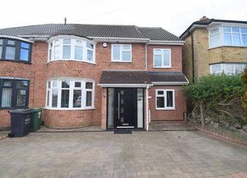 Thumbnail 5 bed semi-detached house for sale in Kingsgate Avenue, Birstall, Leicester