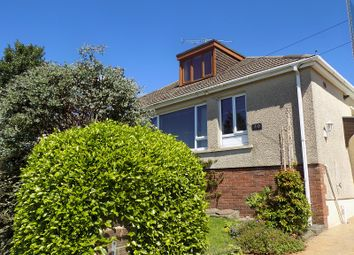 Thumbnail 2 bedroom semi-detached bungalow for sale in Bryn Llidiard, Litchard, Bridgend.