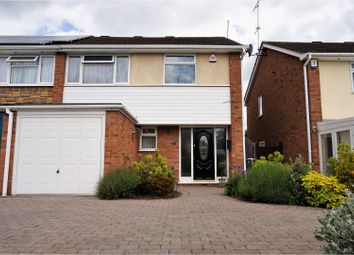 Thumbnail 3 bed semi-detached house for sale in Combe Close, Leicester