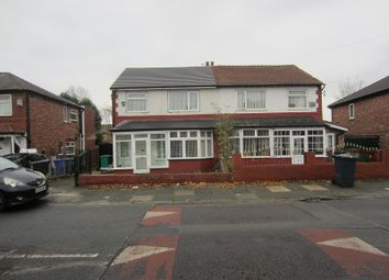 Thumbnail 3 bed semi-detached house to rent in Kings Road, Chorlton, Manchester.