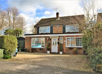 Thumbnail 4 bed detached house for sale in Kitsmead, Copthorne, Crawley, West Sussex.