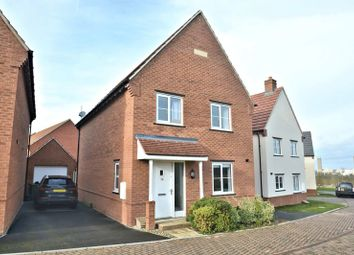 Thumbnail 4 bed detached house for sale in Heron Lane, Didcot
