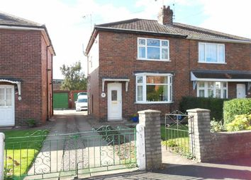 Thumbnail 2 bed semi-detached house for sale in Hallshaw Avenue, Crewe, Cheshire