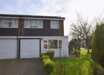 Thumbnail 3 bed semi-detached house for sale in Byron Close, Bletchley, Milton Keynes