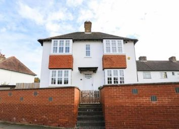 Thumbnail 3 bed end terrace house for sale in Ridge Avenue, Letchworth Garden City, Hertfordshire, England