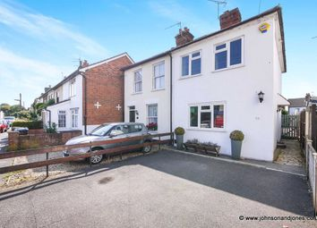 Thumbnail 2 bed semi-detached house for sale in Station Road, Chertsey